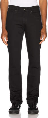 Levi's Made & Crafted Made & Crafted 511 Slim Jean in Black Rinse | FWRD