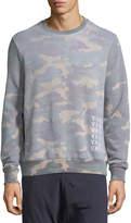 Eleven Paris Vandal Camouflage Fleece Sweater