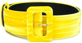 The Attico Classic Buckled Belt
