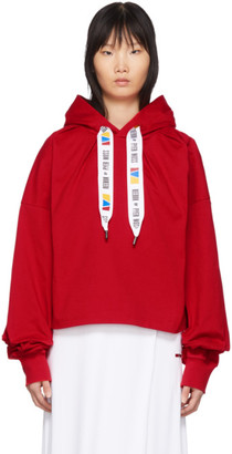 Reebok by Pyer Moss Red Collection 3 Wide Fit Hoodie