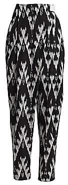 Rachel Comey Women's Furl Ikat Belted Pants