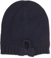 Kate Spade Gathered Bow Knit Beanie