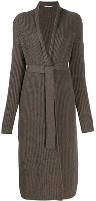 Agnona cashmere long cardigan