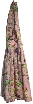 Olympia Le-Tan Olympia Le Tan Pink Cotton Dresses