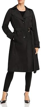 Via Spiga Belted Packable Trench Coat