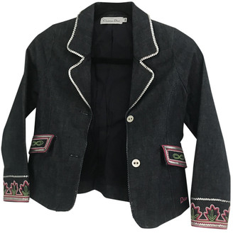 Christian Dior Blue Denim - Jeans Jackets & Coats