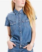 Levi's Larissa Western Cotton Denim Shirt