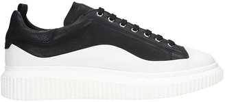 Officine Creative Krace 008 Sneakers In Black Leather
