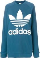 adidas logo patch sweatshirt