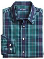 Brooks Brothers Boys' Non Iron Plaid Shirt - Sizes 4-16