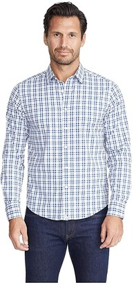 UNTUCKit Performance+ Allendale Shirt (Blue) Men's Clothing