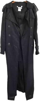 Non Signã© / Unsigned Non SignA / Unsigned Black Silk Trench coats