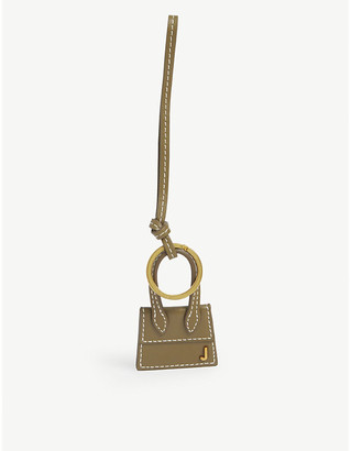 Jacquemus Le Chiquito leather key ring