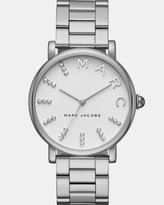 Marc Jacobs Classic Silver-Tone Analogue Watch