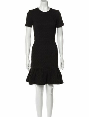 Opening Ceremony Crew Neck Mini Dress w/ Tags Black