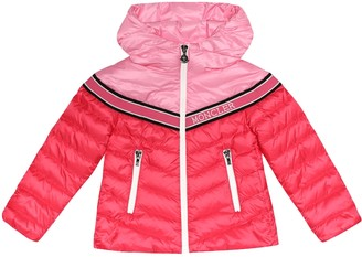 Moncler Enfant Eglantine hooded down jacket