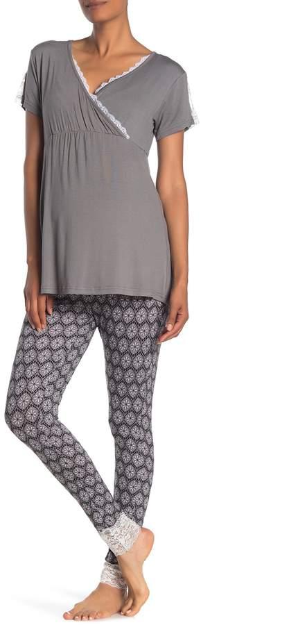 a12239163e Maternity Nursing Pajamas - ShopStyle