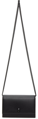 Alexander McQueen Black Skull Mini Bag