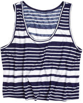 Stripe Crop Tank