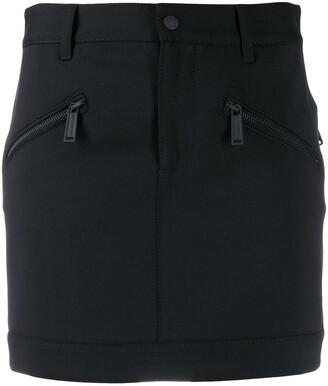 DSQUARED2 Zipped Pocket Mini Skirt