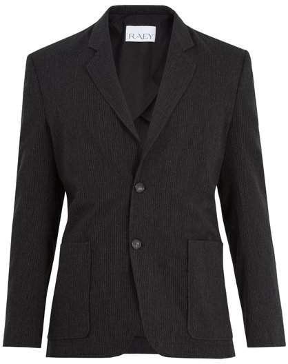 Raey Wool Blend Suit Jacket - Mens - Grey