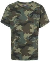 Amiri camouflage print T-shirt