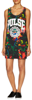 Love Moschino Cotton Jungle Print Shift Dress