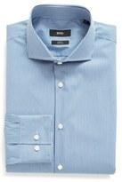 BOSS Slim Fit Stripe Stretch Dress Shirt