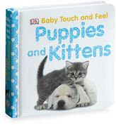 Bed Bath & Beyond Baby Touch and Feel Puppies and Kittens Board Book