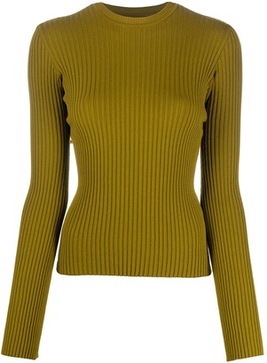 Marques Almeida Ribbed-Knit Jumper