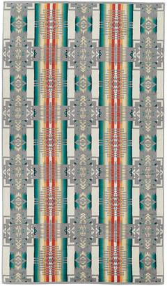 Pendleton Iconic Jacquard Towel - Chief Joseph Grey - Bath Towel