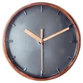Threshold Wall Clock Copper 6