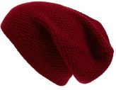 Sole Society Women's Wool Knit Beanie - Burgundy