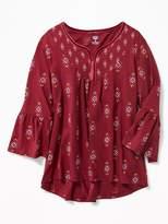 Old Navy Ruffle-Sleeve Boho Tunic for Girls