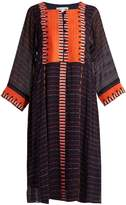 Apiece Apart Las Casas embroidered silk dress