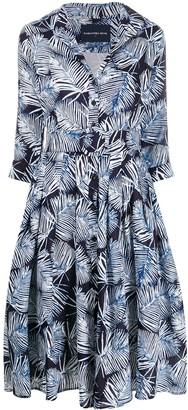 Samantha Sung Audrey Batik shirt dress