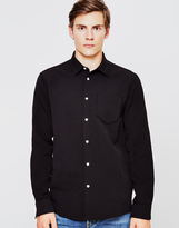 Soulland Logan Pocket Shirt Black