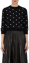 Comme des Garcons Women's Polka Dot Wool-Blend Sweater