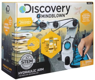 Discovery Channel Hydraulic Robotic Arm DIY Playing Set