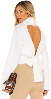 Majorelle Elouise Tie Back Sweater