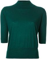 H Beauty&Youth ribbed trim sweatshirt - women - Silk/Cotton - One Size