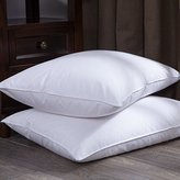 Puredown Goose Feather and Down Bed Pillow, White, Set of 2, Standard/Queen Size