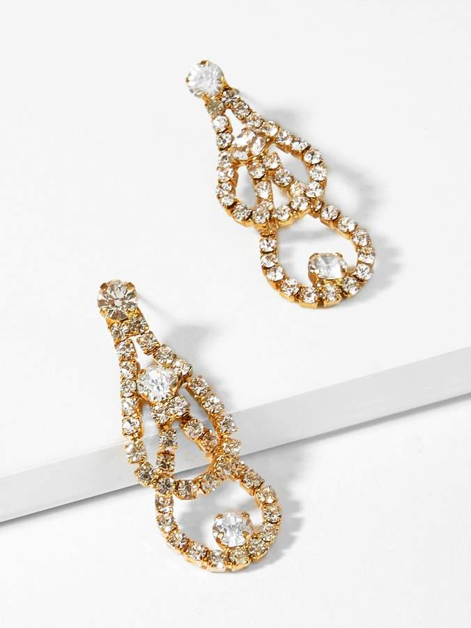 4c5dfdb5eb Rhinestone Drop Earrings - ShopStyle