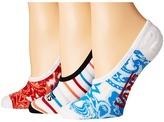 Vans Paisley Ways Canoodles 3-Pair Pack Women's Crew Cut Socks Shoes