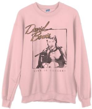 Junk Food Clothing Cotton David Bowie Sweatshirt