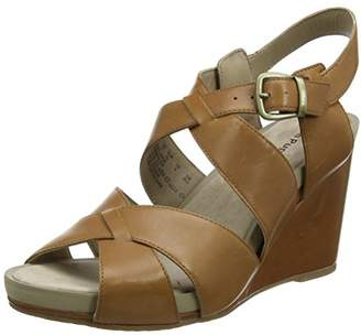 Hush Puppies Women's Fintan Montie Ankle Strap Sandals,40.5 EU
