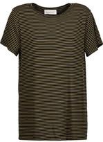 Zimmermann Striped Stretch-Jersey T-Shirt
