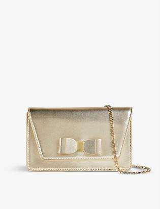 Ted Baker Keeiira leather clutch bag