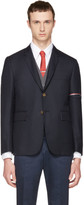 Thom Browne Navy Selvedge Blazer