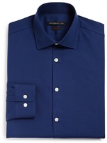 John Varvatos Solid Slim Fit Dress Shirt